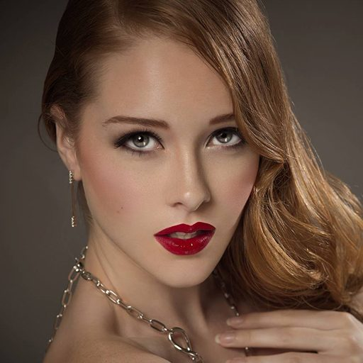 Makeup Artist Singapore - Red Lipstick - Scarlet Makeup