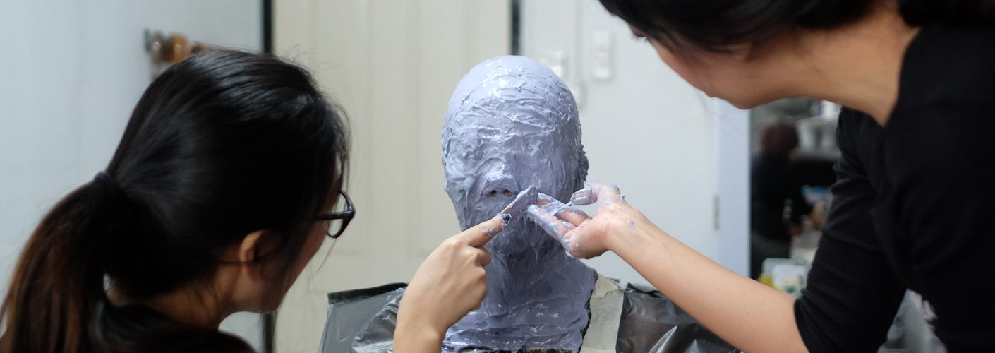 Makeup Artistry - Makeup Effects - Head casting by Rezani Ramli & Shue Jieyi